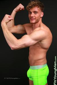 Travis Banfield - Fit Young Sportsmen - Ripped sportsmen